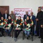 قهرمانان و مدال آوران کاراته شهرستان ملارد مورد تجلیل قرار گرفتند