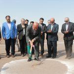 مراسم کلنگ زنی ۳ واحد تولیدی در شهرستان شهریار