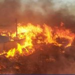 انفجار یک کارخانه غیرمجاز تینر در ملارد